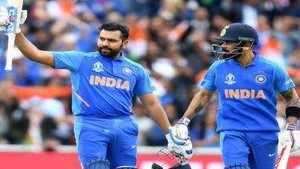 Indian team's captaincy to be split between Virat Kohli and Rohit Sharma?