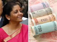 Take note, FM Nirmala Sitharaman's saris match currency colour