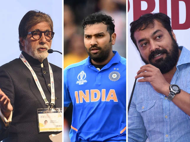 Big B mocks ICC's boundary rule; Anurag Kashyap, Rohit Sharma cite 'serious problem'