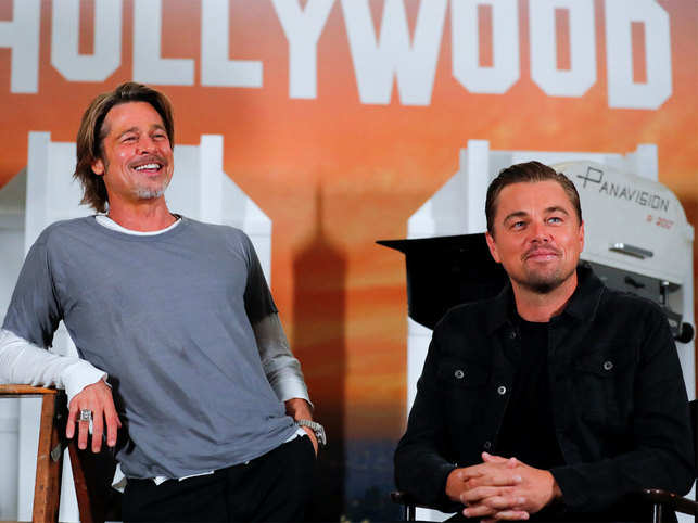 Brad Pitt in awe of Leonardo DiCaprio's improvisation skills, eager to work with him again
