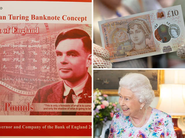 Money trouble: Alan Turing, Jane Austen, Queen Elizabeth - prominent people who featured on banknotes & stirred controversy