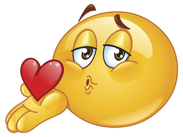 How to make a kiss emoji