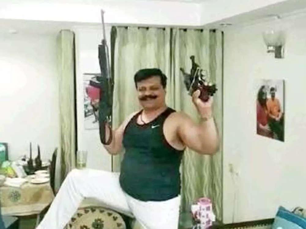 BJP expels Pranav Singh Champion for 6 years over pistol dance video