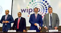 Bengaluru: Wipro CEO and Executive Director Abidali Z Neemuchwala (2nd R) with P...