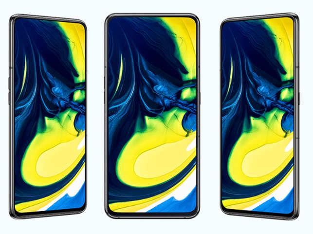 Samsung Galaxy A80 Price: Samsung Galaxy A80 with world's first