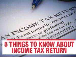 ITR filing guide: 5 things you should know