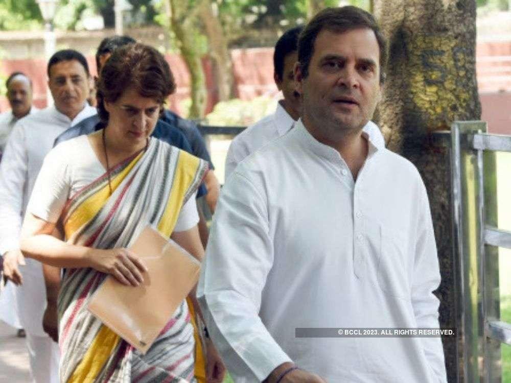 Priyanka's 'arrest' disturbing, shows BJP's insecurity: Rahul Gandhi