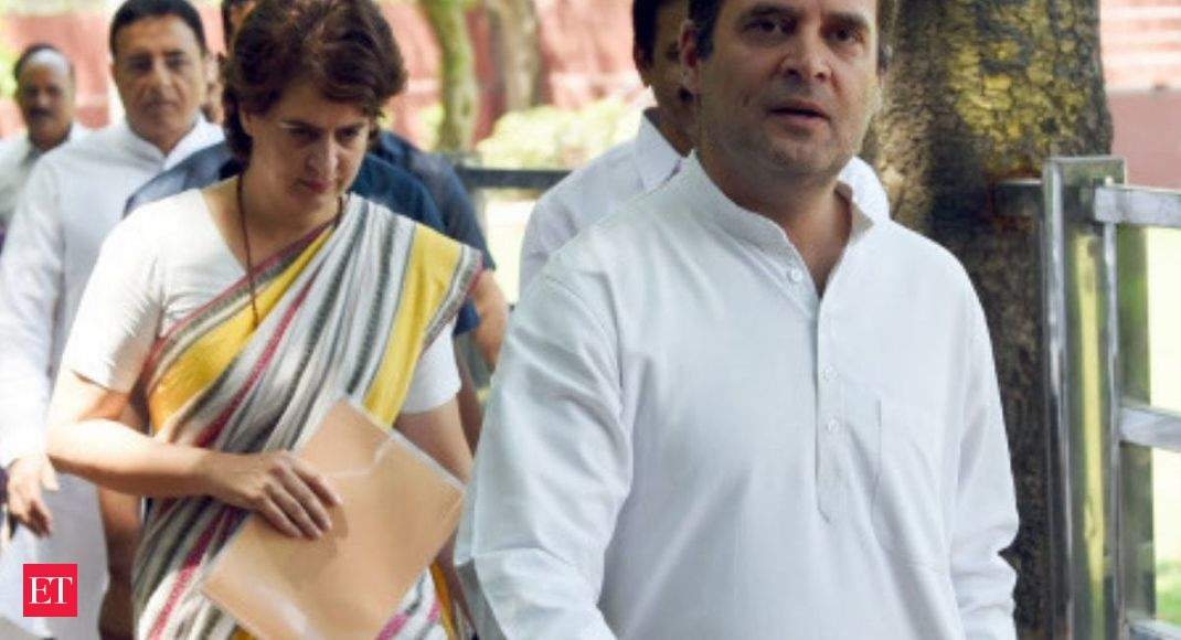 Priyanka's 'arrest' disturbing, shows BJP's insecurity: Rahul Gandhi