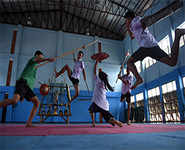 Thai youth embrace ancient martial art