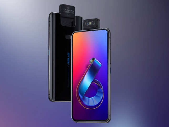 The 6Z features a unique motorised flip camera module, which means it uses the same two cameras for everything.
