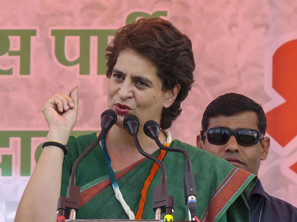 Hope UP govt fulfills all announcements for Sonbhadra firing victims: Priyanka Gandhi