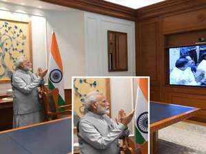 PM Modi congratulates ISRO on Chandrayaan 2, says India is immensely proud