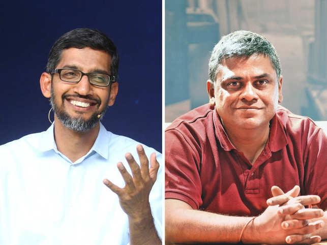 Sundar Pichai & Ambareesh Murty