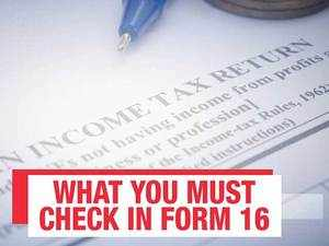 ITR filing guide: Figures to check for in Form 16