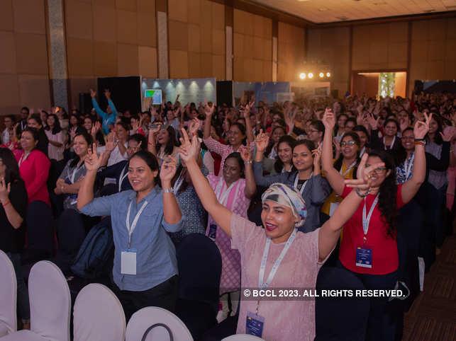 Participants at Women Changemakers 2019 in Bengaluru