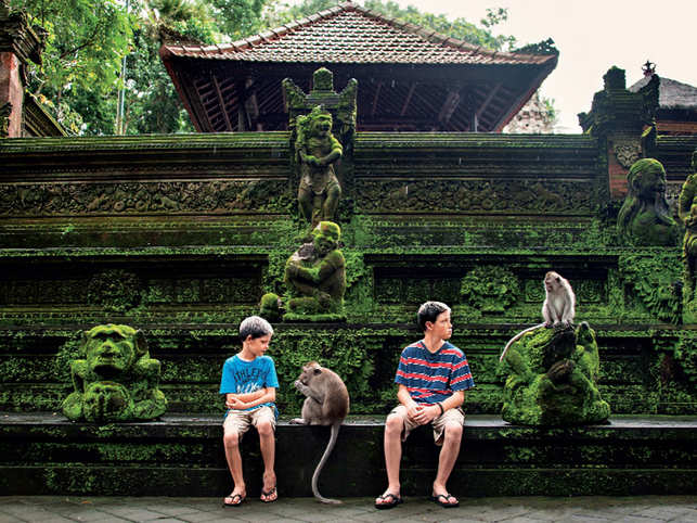 ​Monkey Forest Ubud is a natural habitat of Balinese long tailed monkeys. Moreover, it is also home to three Hindu temples, dating back to 1350​.