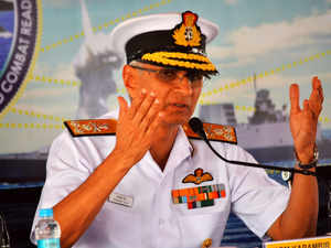 Lot of resources been shifted from other arms of PLA to its navy: Indian Navy chief