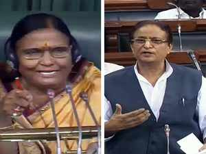 Azam Khan creates uproar in Lok Sabha with objectionable remarks about woman MP on Chair