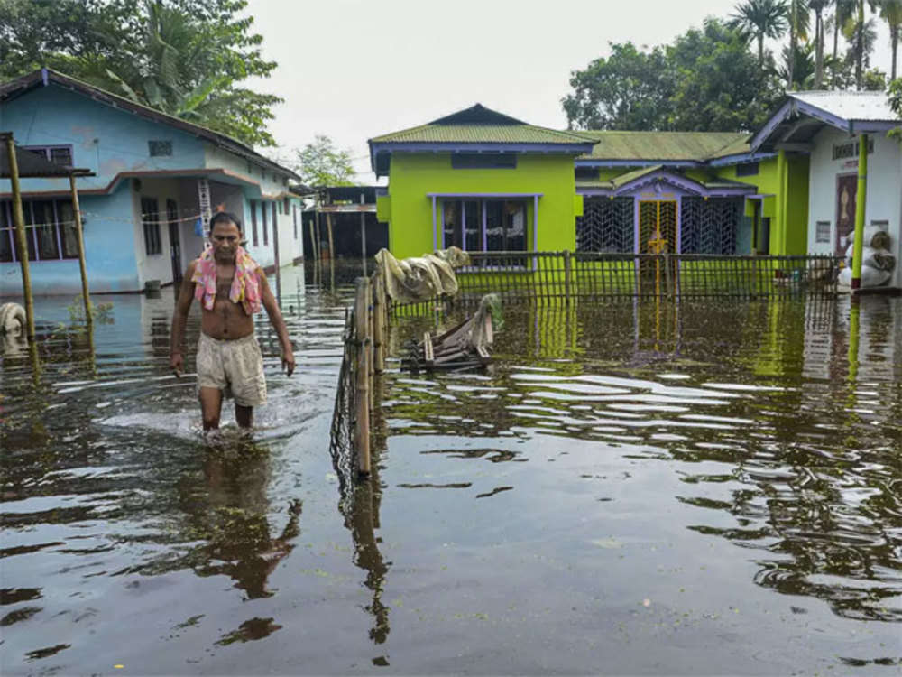 Excessive water from Kuricchu Hydropower plant in Bhutan worsens flood situation in Assam