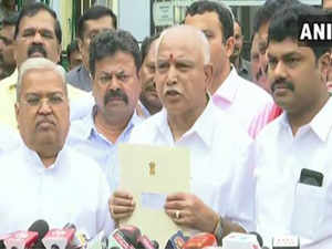 Karnataka: BS Yeddyurappa to take oath as CM at 6 pm