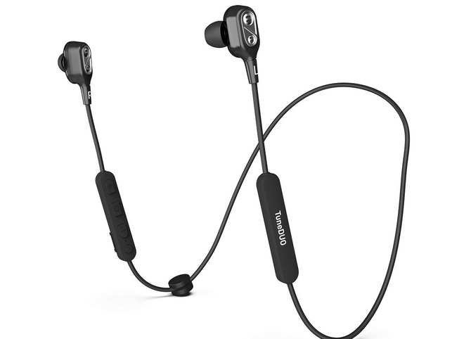 The earphones deliver loud output with above average bass output.