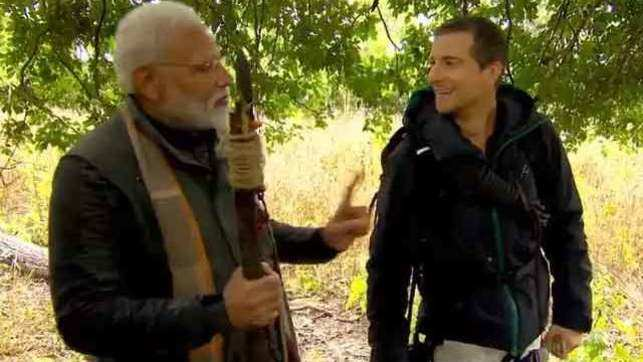 Watch: PM Narendra Modi to feature in Man vs Wild