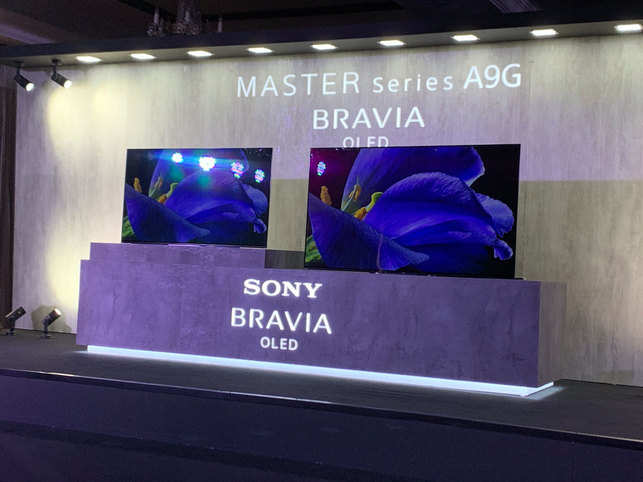 Master Series: Sony India unveils Master Series A9G 4K HDR OLED TV