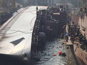 3 Navy officers face court martial for INS Betwa warship accident
