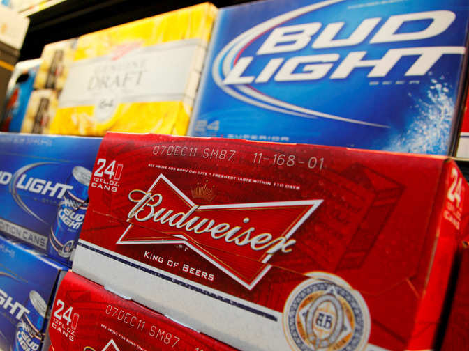 AB InBev's products like Budweiser, Haywards banned in Delhi
