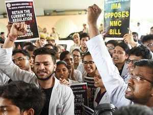 National Medical Commission Bill passed in Rajya Sabha despite doctors' protest