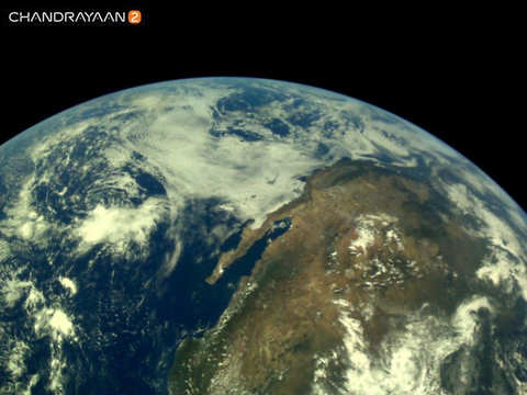 India's Moonshot: ISRO releases set of earth pictures