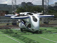 Will flying car be a reality soon? This Japanese vehicle manages to get off the ground for a minute