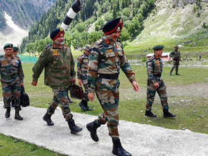 Army commander chairs core group meeting in Srinagar; assures high level readiness