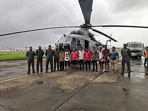 IAF helicopter makes precautionary landing in Gujarat after snag