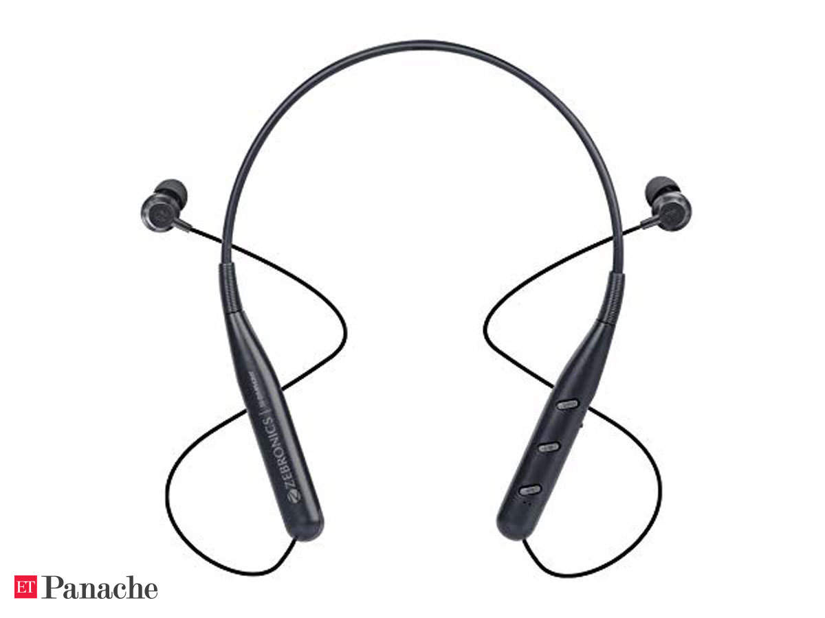 Earphones Zebronics Zeb Symphony Review Above Average Audio Output Good Battery Life Affordable Price The Economic Times