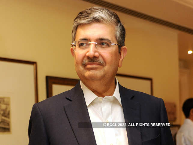 Uday Kotak dreams of a cashless society