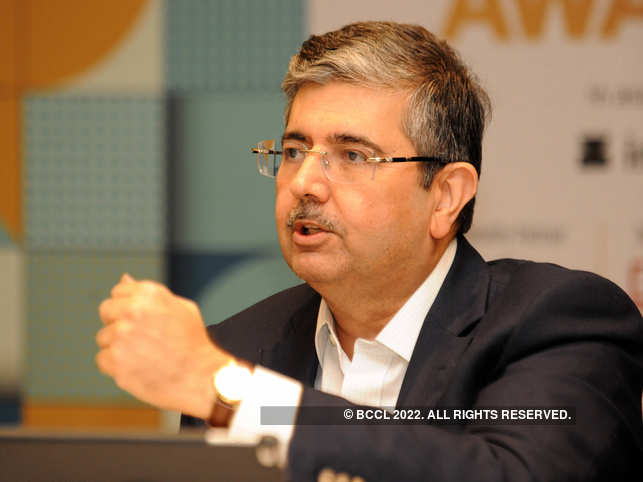 During his forced break after the injury, Uday Kotak went to work in the family business of cotton trading.​
