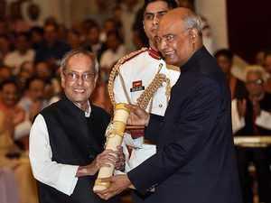 Bharat Ratna: Pranab, Nanaji Deshmukh, Bhupen Hazarika conferred India's highest civilian award