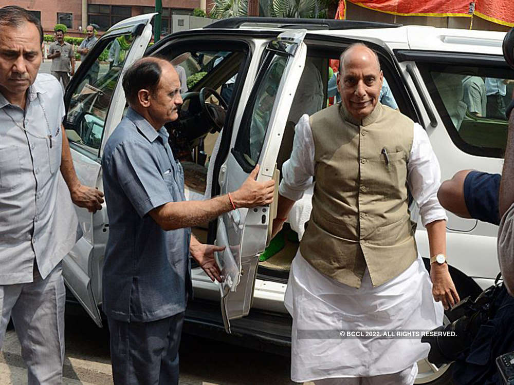 Groundwork for decisions on J&K began during tenure of previous government: Rajnath Singh