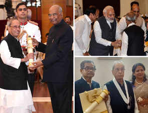 President Kovind Fetes Pranab Mukherjee With Bharat Ratna: PM Modi & BJP Hail 'Jewel Of India'