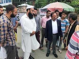 Jammu and Kashmir: NSA Ajit Doval visits Anantnag, interacts with locals