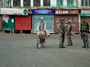 Not a single bullet fired in last 6 days in J&K: Home Ministry denies violence reports