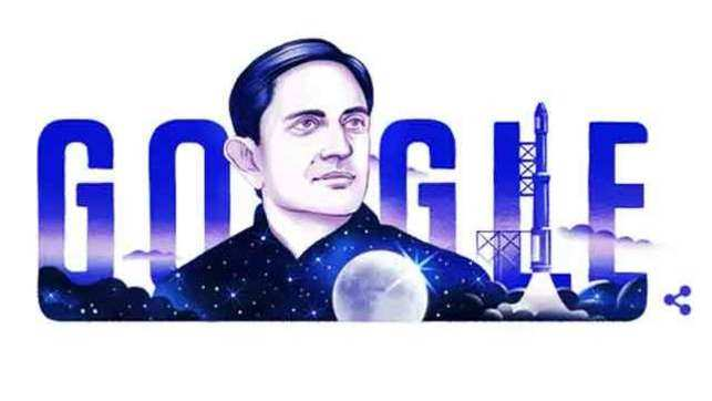 Google marks 100th birth anniversary of Dr Vikram Sarabhai, father of ISRO, with doodle