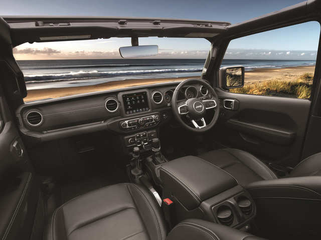 New Jeep Wrangler Comes With Leather Seats, In-Car Infotainment At