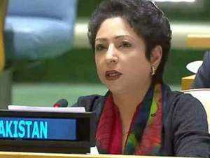 Pakistan representative to UN heckled at an event in New York