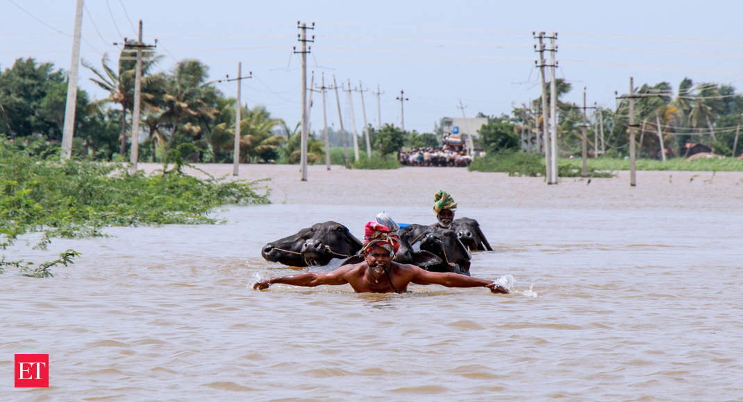 Over 200 dead in four flood-hit states; more than 12 lakh people affected