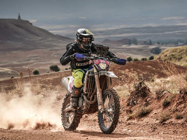 Aishwarya Pissay has been breaking records in her wake since she arrived on the rally biking circuit.