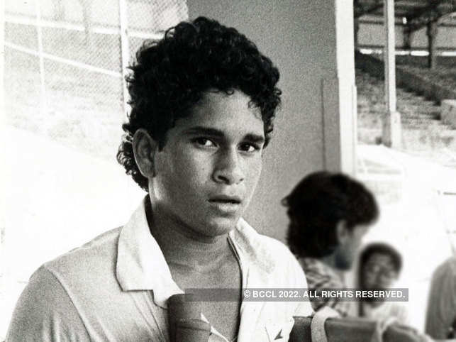 Tendulkar scored 119 runs against England in 1990 and this knock by the batsman helped the side to save the match at Old Trafford.
