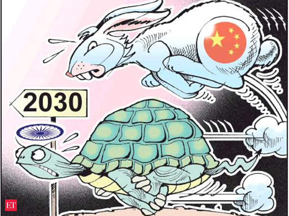 View India May Be A Tortoise Today To China S Hare Its Time Will