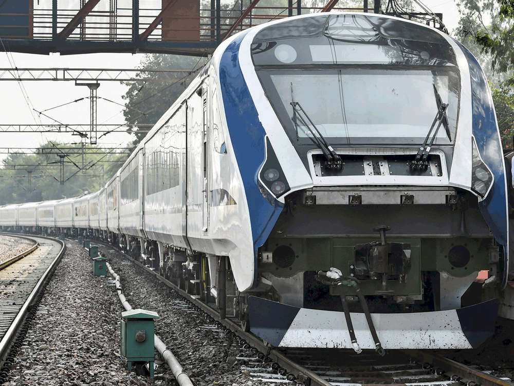 PM props Vande Bharat train as symbol of people's aspirations; its production still in limbo